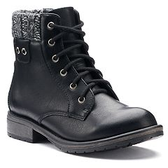 SO® Skipper Girls' Combat Boots