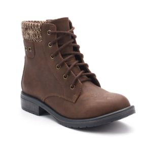 SO® Skipper Girls' Combat Boots