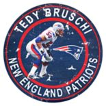 New England Patriots Tedy Bruschi Wall Decor