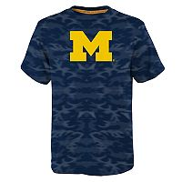 Boys 8-20 Michigan Wolverines Vector Dri-Tek Tee
