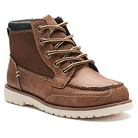 SONOMA Goods for Life™ Baxter Boys' Moc-Toe Boots