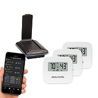 AcuRite 3-Sensor Indoor Temperature & Humidity Remote Monitoring System