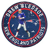 New England Patriots Drew Bledsoe Wall Decor