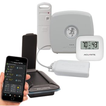 AcuRite 3-Sensor Indoor / Outdoor Temperature & Humidity Remote Monitoring System with Leak Detection