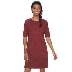 Petite Suite 7 Striped T-Shirt Dress