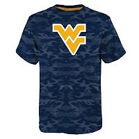 Boys 8-20 West Virginia Mountaineers Vector Dri-Tek Tee