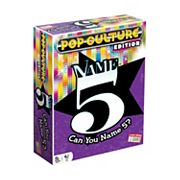 Name 5 Pop Culture Edition Board Game by Endless Games