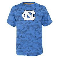 Boys 8-20 North Carolina Tar Heels Vector Dri-Tek Tee