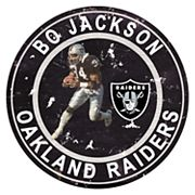Oakland Raiders Vincent 'Bo' Jackson Wall Decor