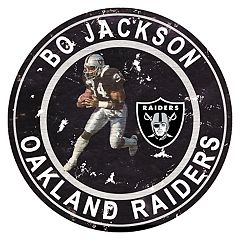 Oakland Raiders Vincent 'Bo' Jackson Wall Decor