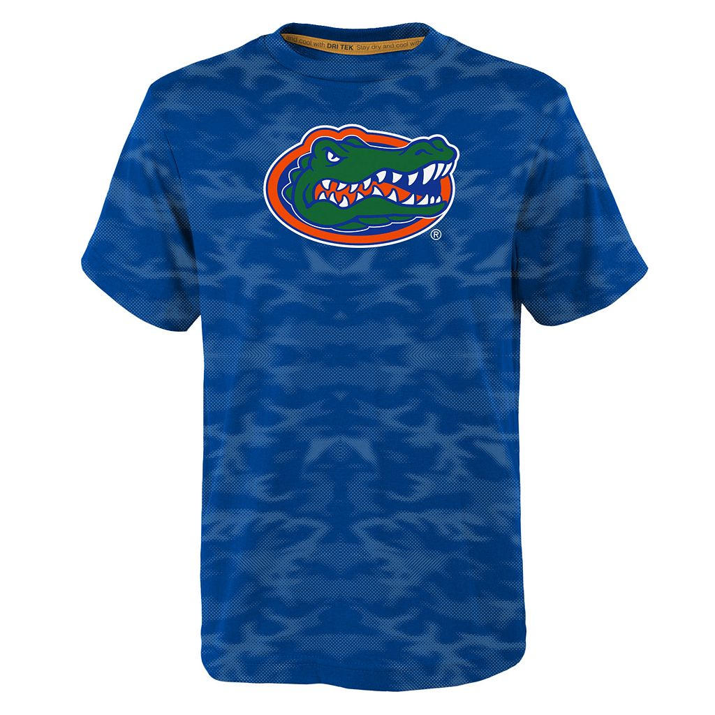 Boys 8-20 Florida Gators Vector Dri-Tek Tee