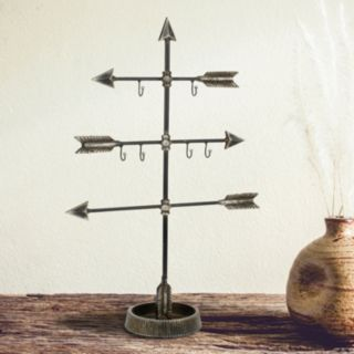Stonebriar Collection Arrow Jewelry Holder Stand
