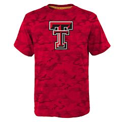 Boys 8-20 Texas Tech Red Raiders Vector Dri-Tek Tee