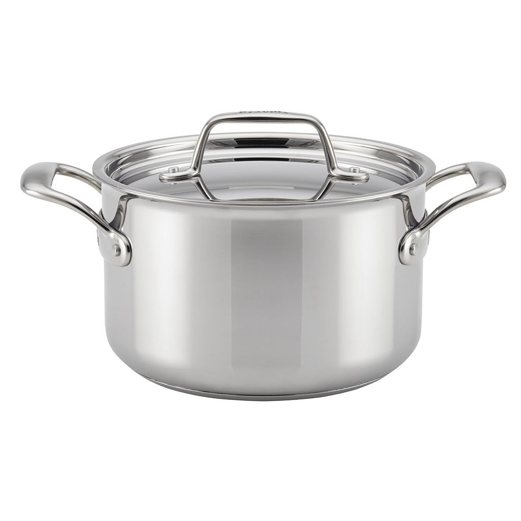 Breville Thermal Pro Clad 4-qt. Stainless Steel Covered Saucepot