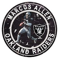 Oakland Raiders Marcus Allen Wall Decor
