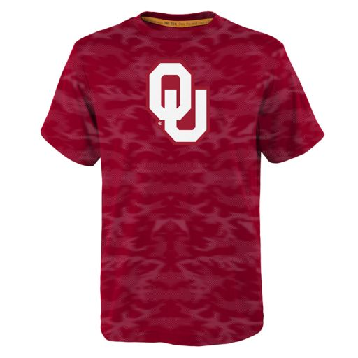 Boys 8-20 Oklahoma Sooners Vector Dri-Tek Tee