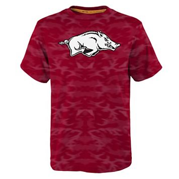 Boys 8-20 Arkansas Razorbacks Vector Dri-Tek Tee