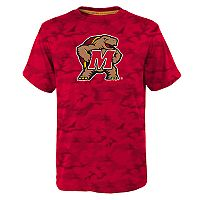 Boys 8-20 Maryland Terrapins Vector Dri-Tek Tee