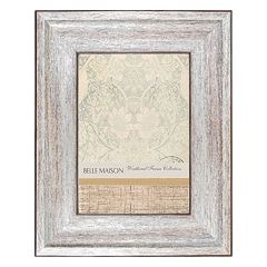 Belle Maison Weathered Pewter Finish Frame