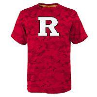 Boys 8-20 Rutgers Scarlet Knights Vector Dri-Tek Tee