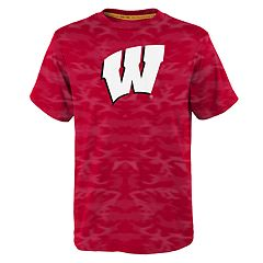 Boys 8-20 Wisconsin Badgers Vector Dri-Tek Tee