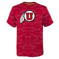 Boys 8-20 Utah Utes Vector Dri-Tek Tee