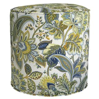 Metje Valbella Floral Indoor Outdoor Small Pouf