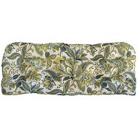 Metje Valbella Floral Indoor Outdoor Reversible Bench Cushion