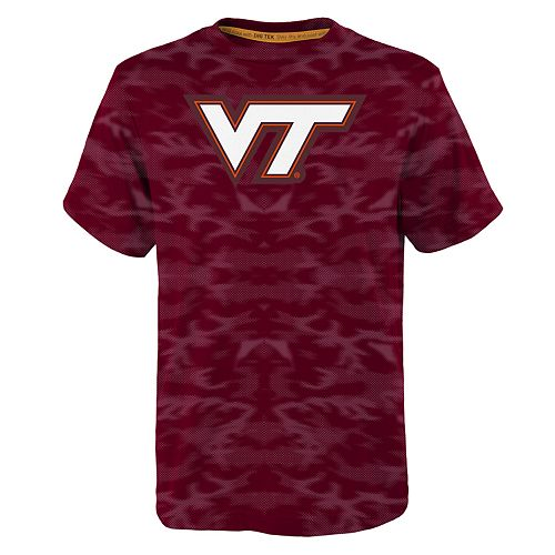 Boys 8-20 Virginia Tech Hokies Vector Dri-Tek Tee