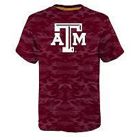 Boys 8-20 Texas A&M Aggies Vector Dri-Tek Tee