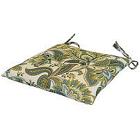 Metje Valbella Floral Indoor Outdoor 2 pc Reversible Chair Cushion Set