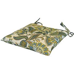 Metje Valbella Floral Indoor Outdoor 2-piece Reversible Chair Cushion Set