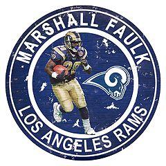 Los Angeles Rams Marshall Faulk Wall Decor
