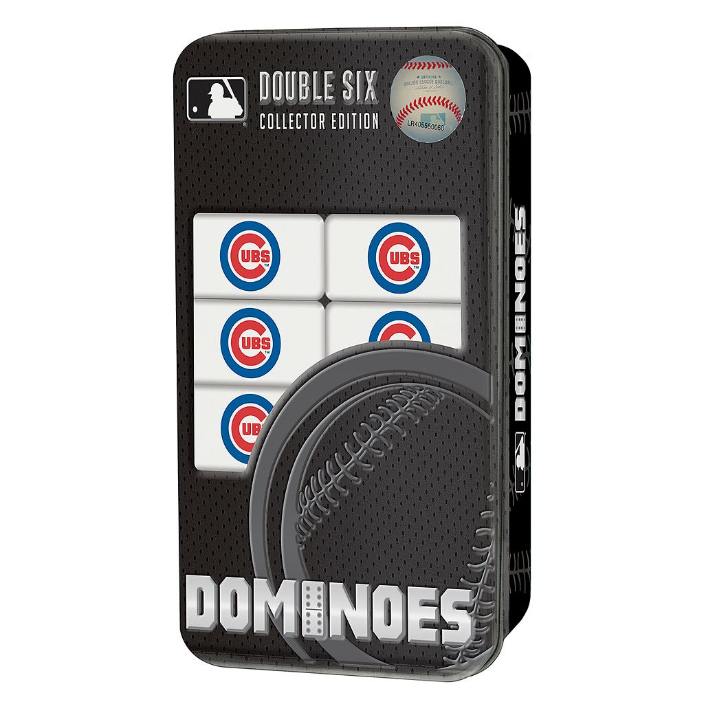Chicago Cubs Double-Sixes Collectble Dominoes Set