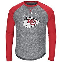Big & Tall Majestic Kansas City Chiefs Hyper Raglan Tee