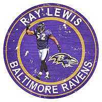 Baltimore Ravens Ray Lewis Wall Decor