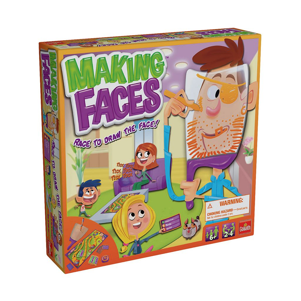 Making Faces Game by Goliath