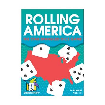 Rolling America Board Game by Gamewright