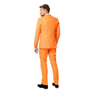 Men's OppoSuits Slim-Fit The Orange Suit & Tie Set