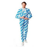 Men's OppoSuits Slim-Fit The Bavarian Suit & Tie Set