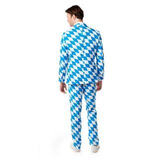 Men's OppoSuits Slim-Fit The Bavarian Suit & Tie Set