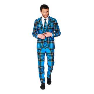 Men's OppoSuits Slim-Fit Braveheart Suit & Tie Set