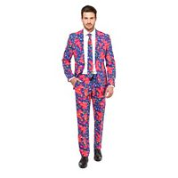Men's OppoSuits Slim-Fit Fresh Prince Suit & Tie Set