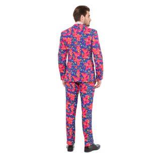 Men's OppoSuits Slim-Fit Fresh Prince Suit & Tie Set
