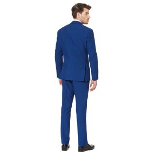 Men's OppoSuits Slim-Fit Navy Royale Suit & Tie Set