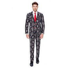 Men's OppoSuits Slim-Fit Haunting Hombre Suit & Tie Set