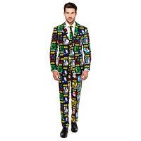 Men's OppoSuits Slim-Fit Star Wars Strong Force Suit & Tie Set