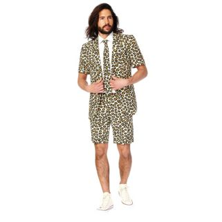 Men's OppoSuits Slim-Fit Jaguar Suit & Tie Set