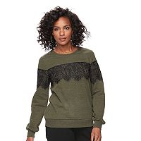 Women's Apt. 9® Embellished Crewneck Sweatshirt