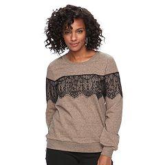 Women's Apt. 9® Embellished Crewneck Sweatshirt